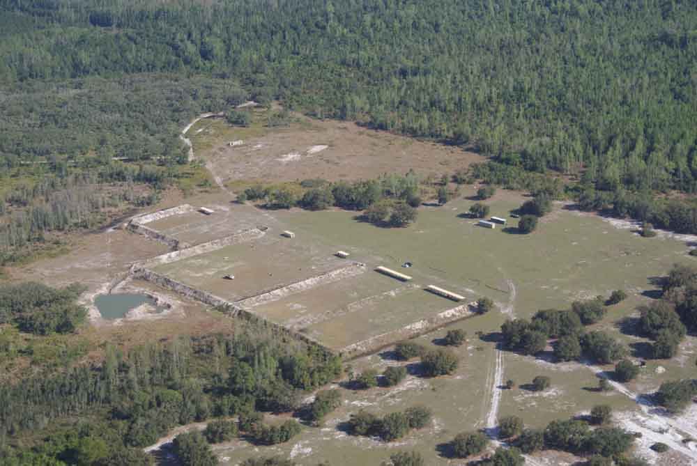 training facility aerial view